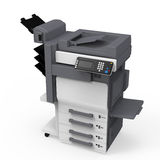 Office Multifunction Printer Stock Photos