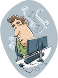 Office Nap Royalty Free Stock Images