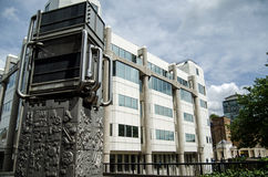 Office for National Statistics, Westminster. LONDON, UK - JULY 6, 2014:  Headquarters of the quango Office for National Statistics in Pimlico, London.  The Stock Images