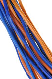 Office network cables Stock Image