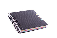 Office notebook. Back to school concept. Post it note. Stock Image