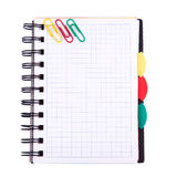 Office notebook. Back to school concept. Post it note. Royalty Free Stock Image