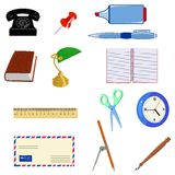 Office objects Royalty Free Stock Photos