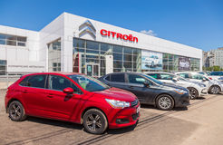 Office of official dealer Citroen Stock Photo