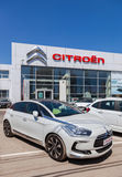 Office of official dealer Citroen Stock Image