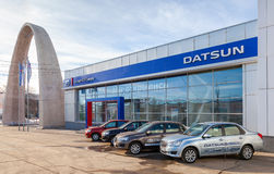 Office of official dealer Datsun in Samara, Russia Stock Photography