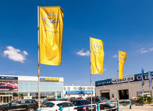 Office of official dealer Opel. Stock Images