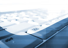 Office online Stock Photo