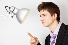 Office opposition. concept image Royalty Free Stock Photos