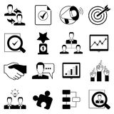 Office and organization icons Stock Image