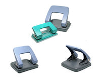 Office paper hole puncher Royalty Free Stock Image