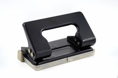 Office paper hole puncher. Royalty Free Stock Images