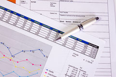 Office papers Stock Photography