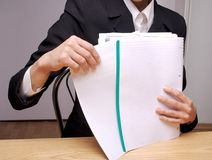 Office Papers 2 Stock Images
