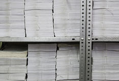 Office papers filed Royalty Free Stock Photography
