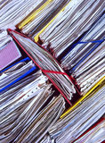 Office paperwork Royalty Free Stock Images