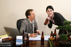 Office Party Royalty Free Stock Image