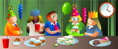 Office party Stock Image