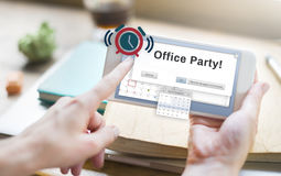 Office Party Business Commercial Entertainment Concept Royalty Free Stock Image