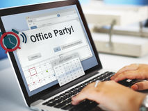 Office Party Business Commercial Entertainment Concept Stock Photo