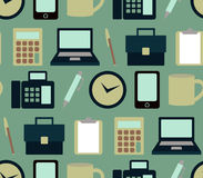 Office pattern Royalty Free Stock Photography