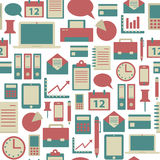Office pattern Stock Photo