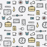 Office pattern Stock Photography