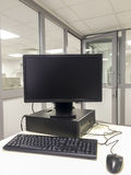 Office PC Workstation Stock Photography