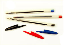 Office pens Royalty Free Stock Photos