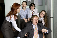 Office people. Royalty Free Stock Image