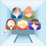 Office people Royalty Free Stock Images