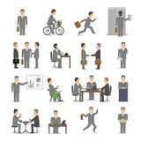 Office people set Stock Photo