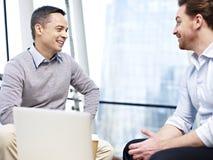 Office people talking during break Royalty Free Stock Image