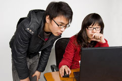 In office person Stock Photo