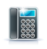 Office phone icon Royalty Free Stock Images