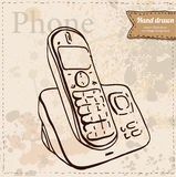 Office Phone Icon. Vector illustration Stock Image