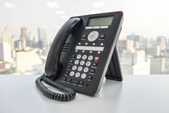Office Phone - IP Phone technology for business Royalty Free Stock Photography