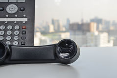 Office Phone - IP Phone technology for business Stock Photography