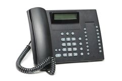 Office phone isolated Stock Photo