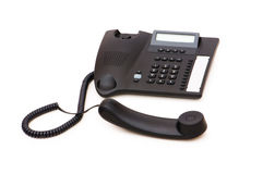 Office phone isolated Royalty Free Stock Images