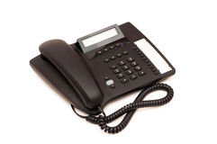 Office phone isolated Stock Image