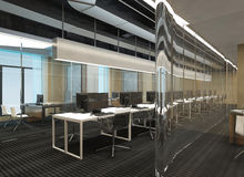 Office Photorealistic Render Stock Photography