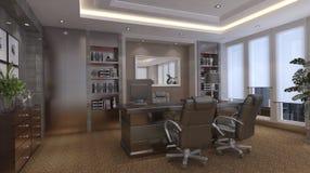 Office Photorealistic Render Stock Photos