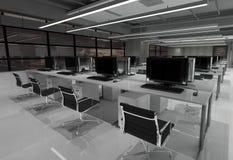 Office Photorealistic Render Stock Photo