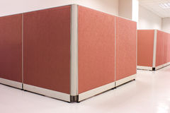 Office pink Partition Royalty Free Stock Images