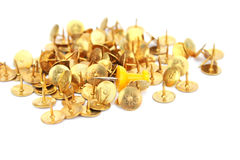 Office pins Royalty Free Stock Image