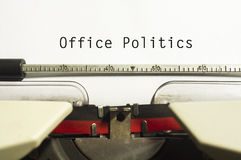 Office politics Royalty Free Stock Photos