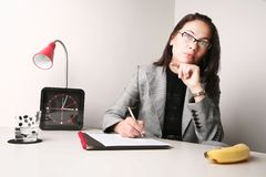 Office portrait Stock Image