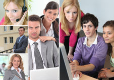 Office portraits Royalty Free Stock Photography