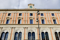 Office of Post and Telecommunications in Rome Stock Photo